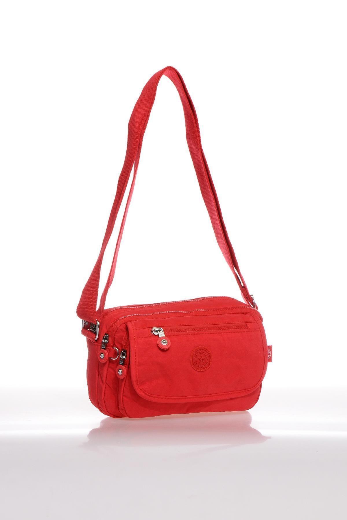 SMART BAGS Kadın Kırmızı Çapraz Çanta 2