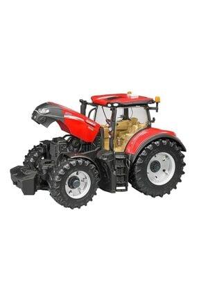 TURKUAZ Brudercase Ih Optum300cvx Kepçeli Traktör & Balya Römorku Br03198