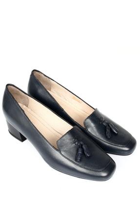 G.Ö.N Gön Hakiki Deri Kadın Topuklu Ayakkabı 13313