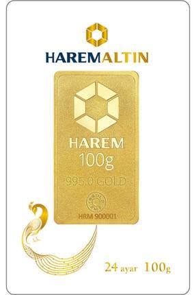 Harem Altın 100 Gr Harem Gram Külçe Altın
