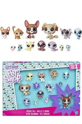Littlest Pet Shop Minişler 13 Parça Movie Özel Set Diva Spuad Koleksiyoner Seti