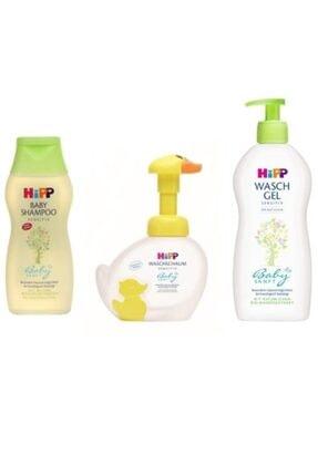 Hipp Babysanft Bebek Şampuanı+el Yıkama Köpüğü+duş Jeli