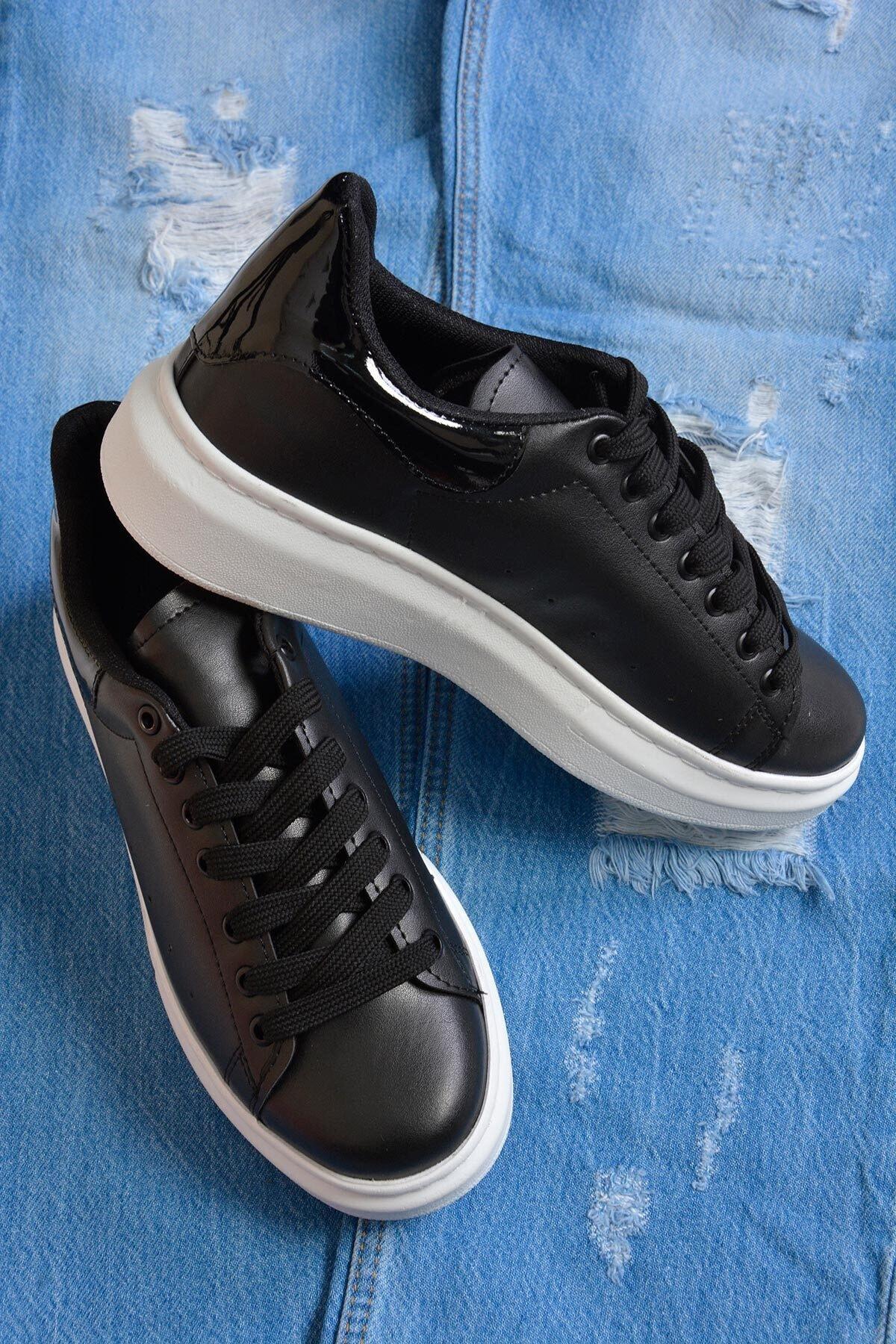 Mossta Kadın Siyah Basic Spor Ayakkabı 2