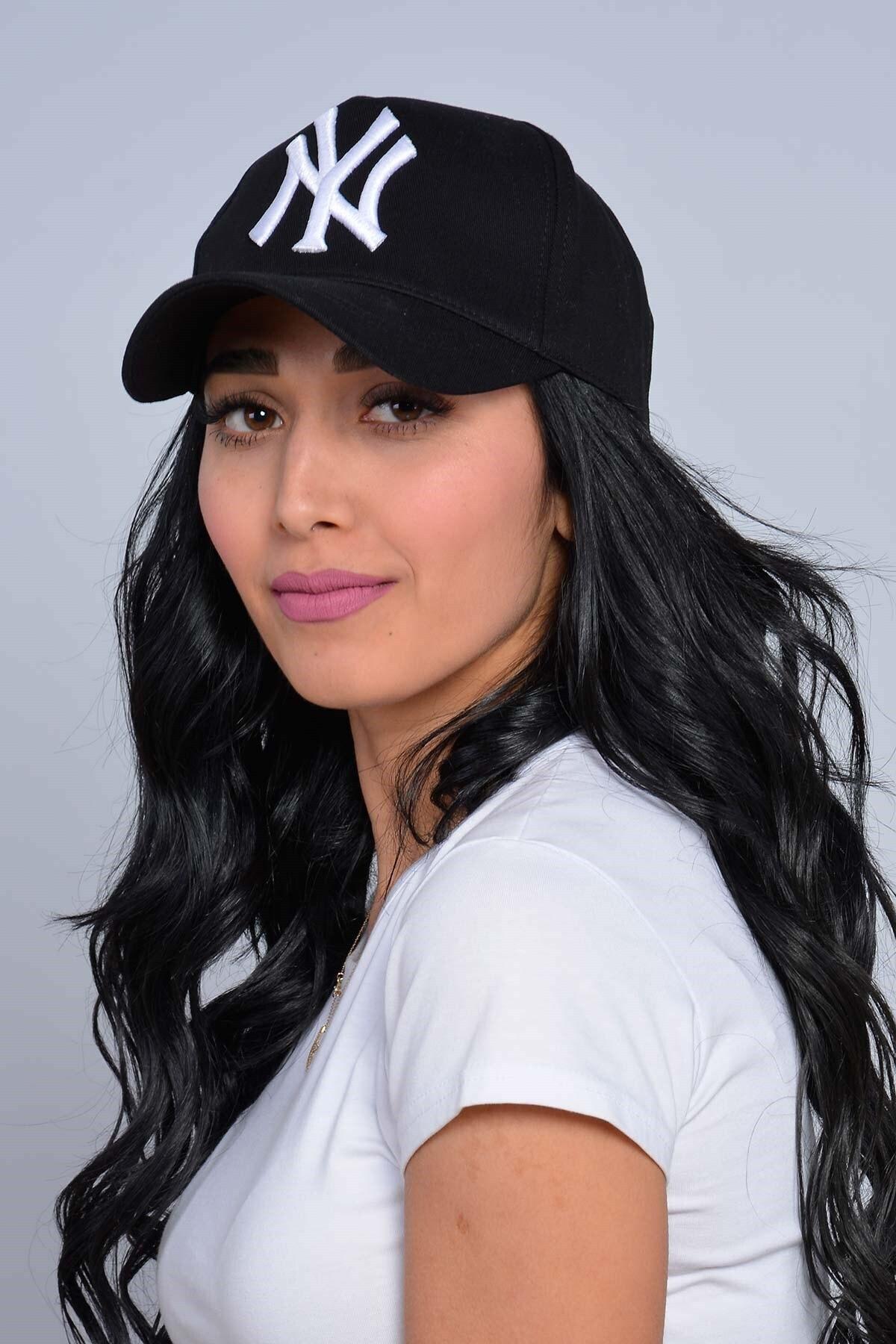 Mossta Unisex Siyah New York Şapka 2