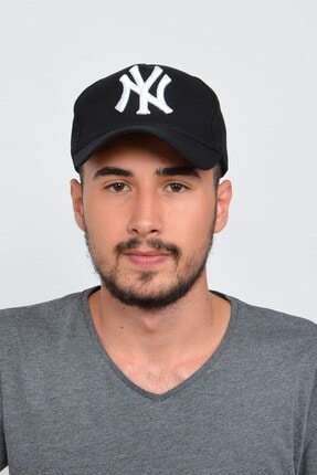 Mossta Erkek Siyah New York Şapka