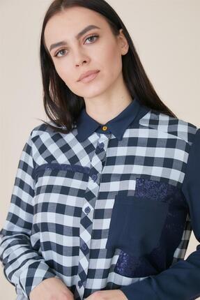 Kayra Kadın Mavi Bluz
