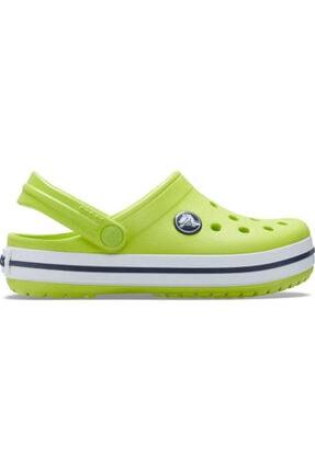 Crocs Kids Çocuk Sarı Crocband Clog K Terlik Lime  204537-3tx