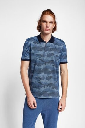Lescon Erkek Lacivert Kısa Kollu Polo Yaka T-Shirt 19y-1169