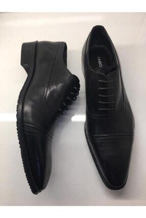 Şahin Erkek Siyah Shoes Günlük Hakiki Deri Ayakkabı 521