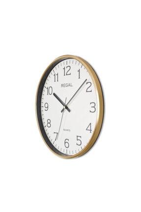 Regal İnce Çerçeve Slim Duvar Saati 0250 Gı