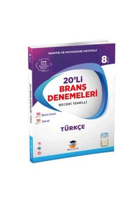 Zeka Küpü Yayınları Süper Branş Denemeleri. Zeka Küpü Yay. Lgs 8. Sınıf Türkçe 20'li Deneme