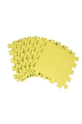 Karaoğlu Züccaciye Yer Karosu 6 Adet Sarı Puzzle Oyun Karosu Çocuk Oyun Yer Matı A4574