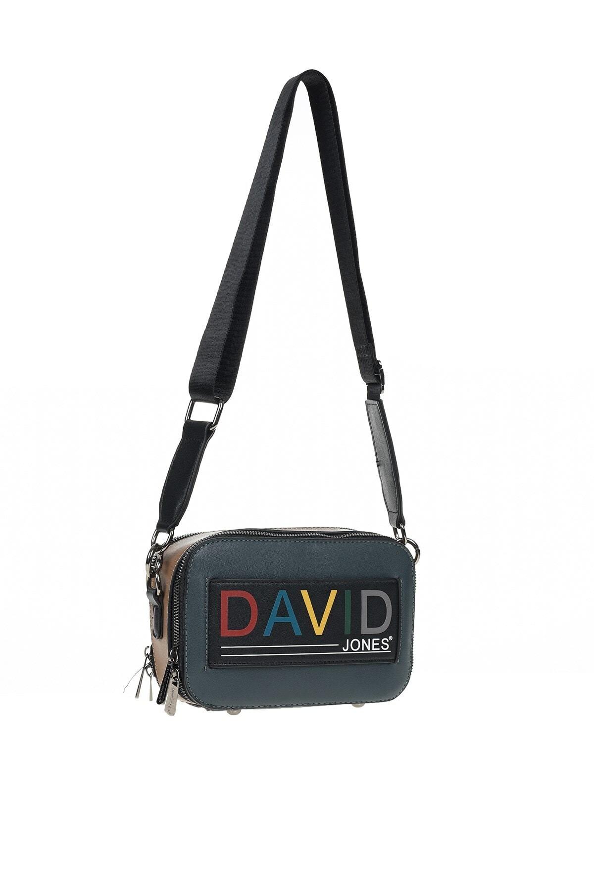 David Jones Kadın Koyu Yeşil Askılı Çanta 2