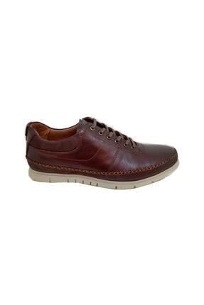 MARCOMEN Erkek Kahverengi Bağcıklı Ayakkabı