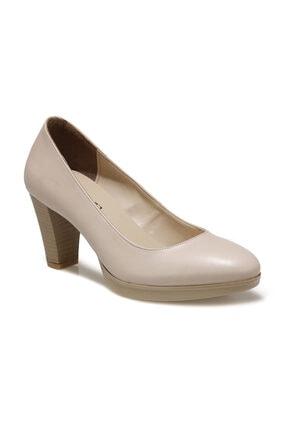 Miss F Dw20021 Bej Kadın Gova Ayakkabı