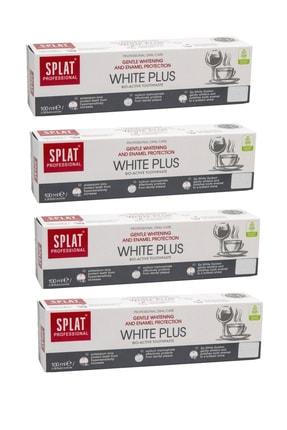 Splat White Plus 100 ml X4 Adet