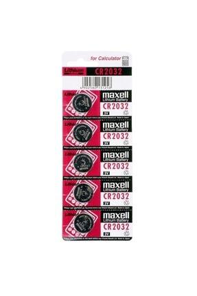 Maxell Cr-2032 Lityum Pil 5li Paket