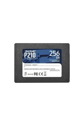 "Patriot 256gb P210 Sata 3.0 500-400mb/s 7mm 2.5"" Flash Ssd"