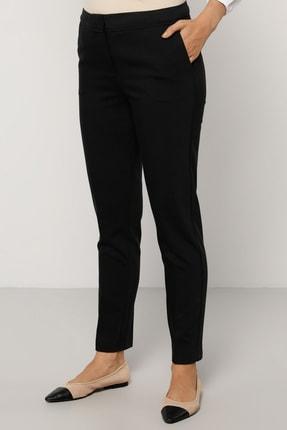 Refka Kadın Siyah Dar Paça Pantolon 1704321