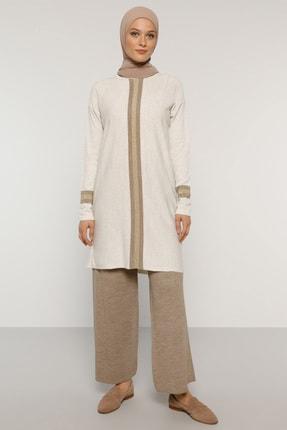 Refka Kadın Taş Triko Tunik&Pantolon İkili Takım 1775785