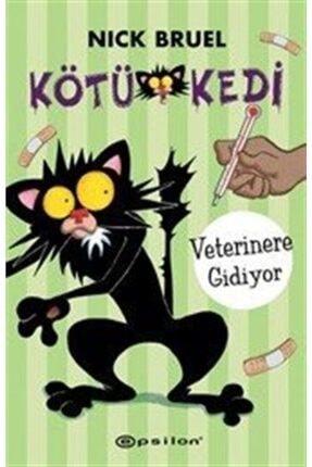 Epsilon Yayınları Kötü Kedi Veterinere Gidiyor Ciltli