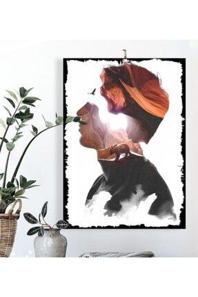 Tontilika Unutulmak Isimli Sürrealist Tasarım 15x21cm Hediyelik Dekoratif 8mm Ahşap Tablo