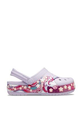 Crocs Kids Kız Çocuk Mor Spor Sandalet
