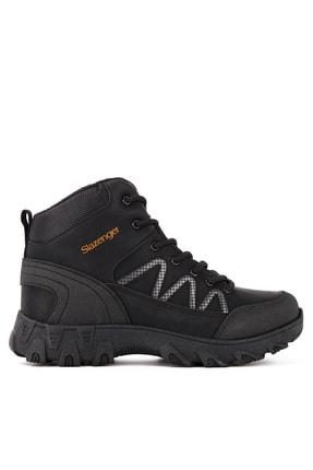 Slazenger Power Outdoor Kadın Outdoor Bot Ayakkabı Siyah