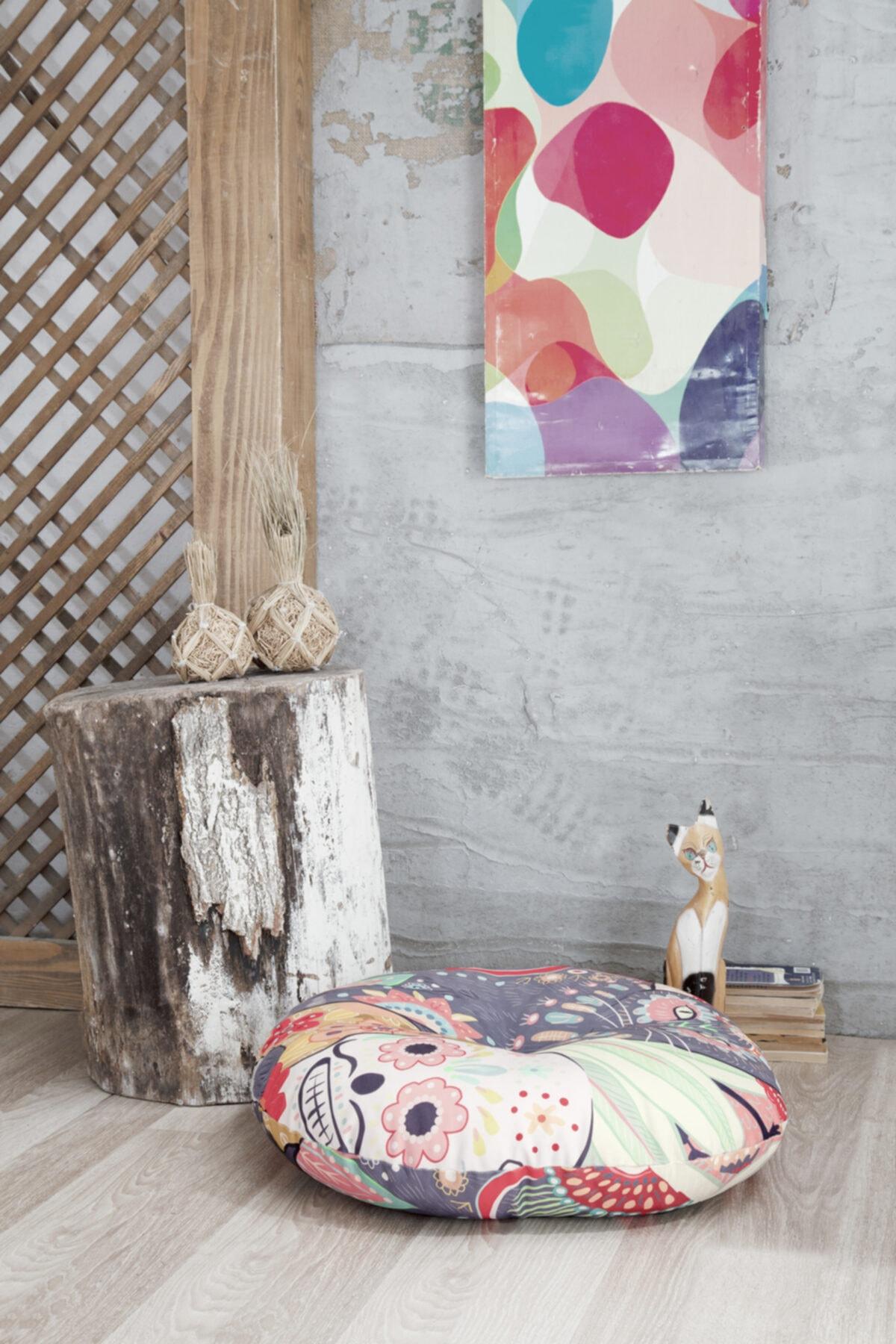 Home&Bath Dekoratif Yer Minderi Renesme 2