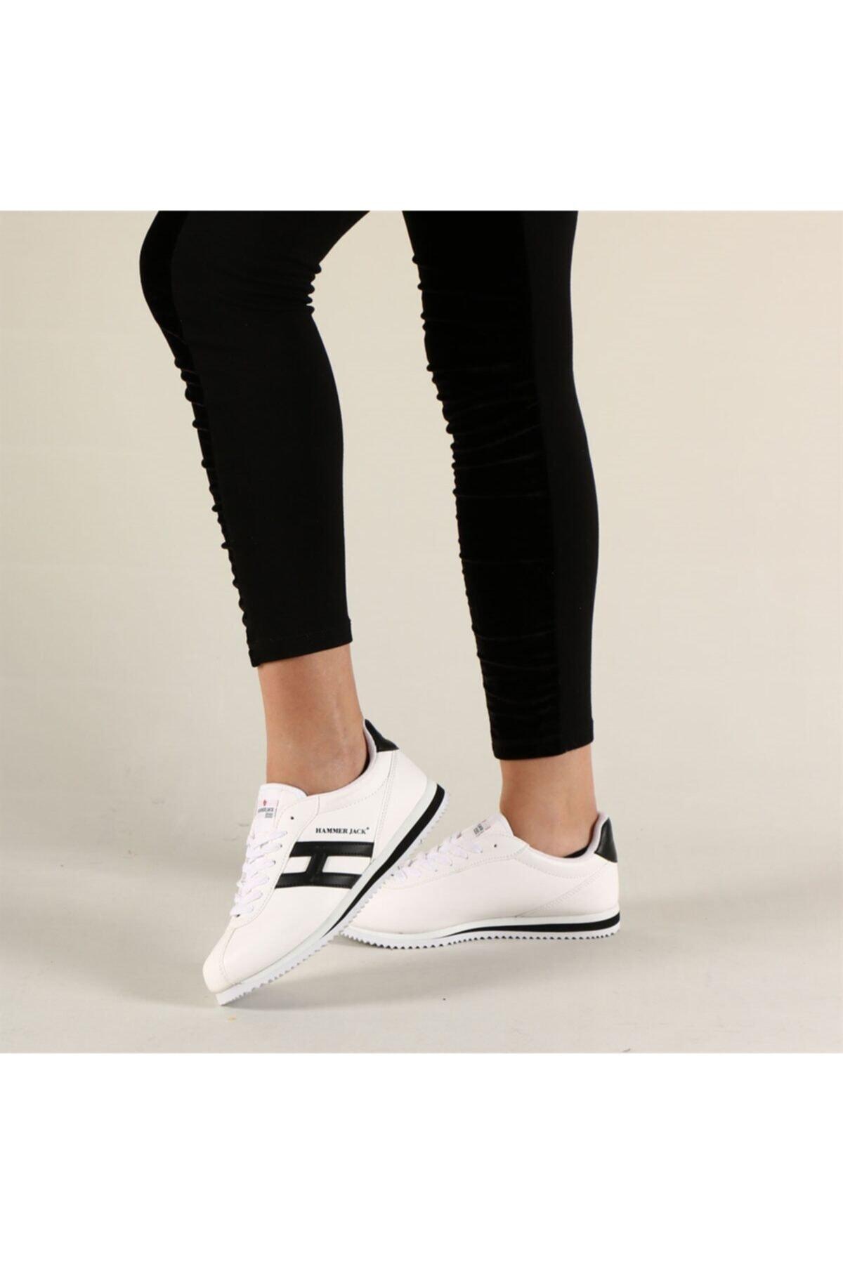 Hammer Jack Kadın Beyaz Sneakers Shoes Butik 2