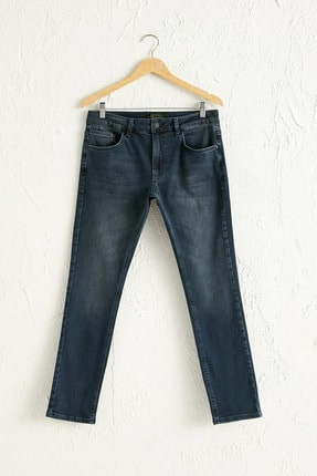 LC Waikiki Erkek Koyu Rodeo Slım Fit Jeans 0WDG97Z8