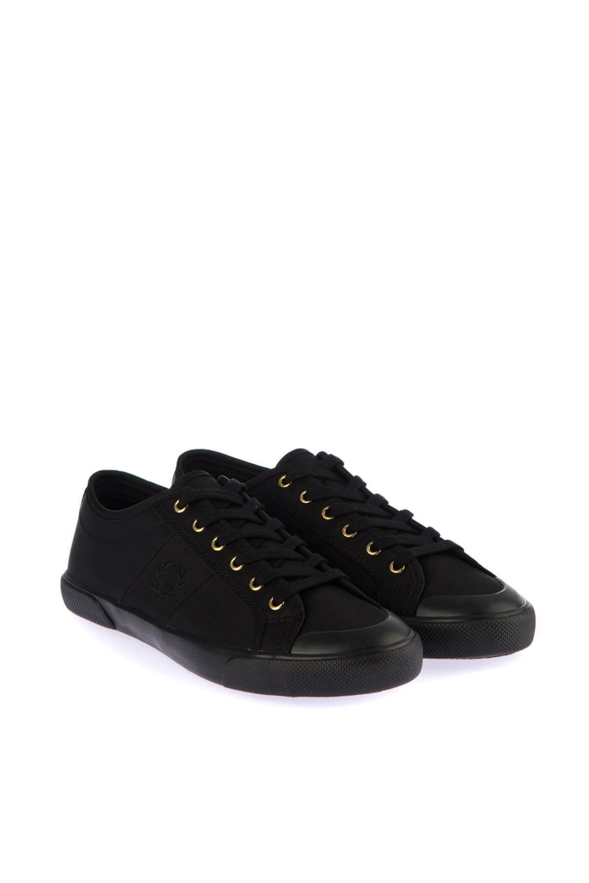 Fred Perry Kadın Siyah Sneaker 183FRPKAYB4307 1