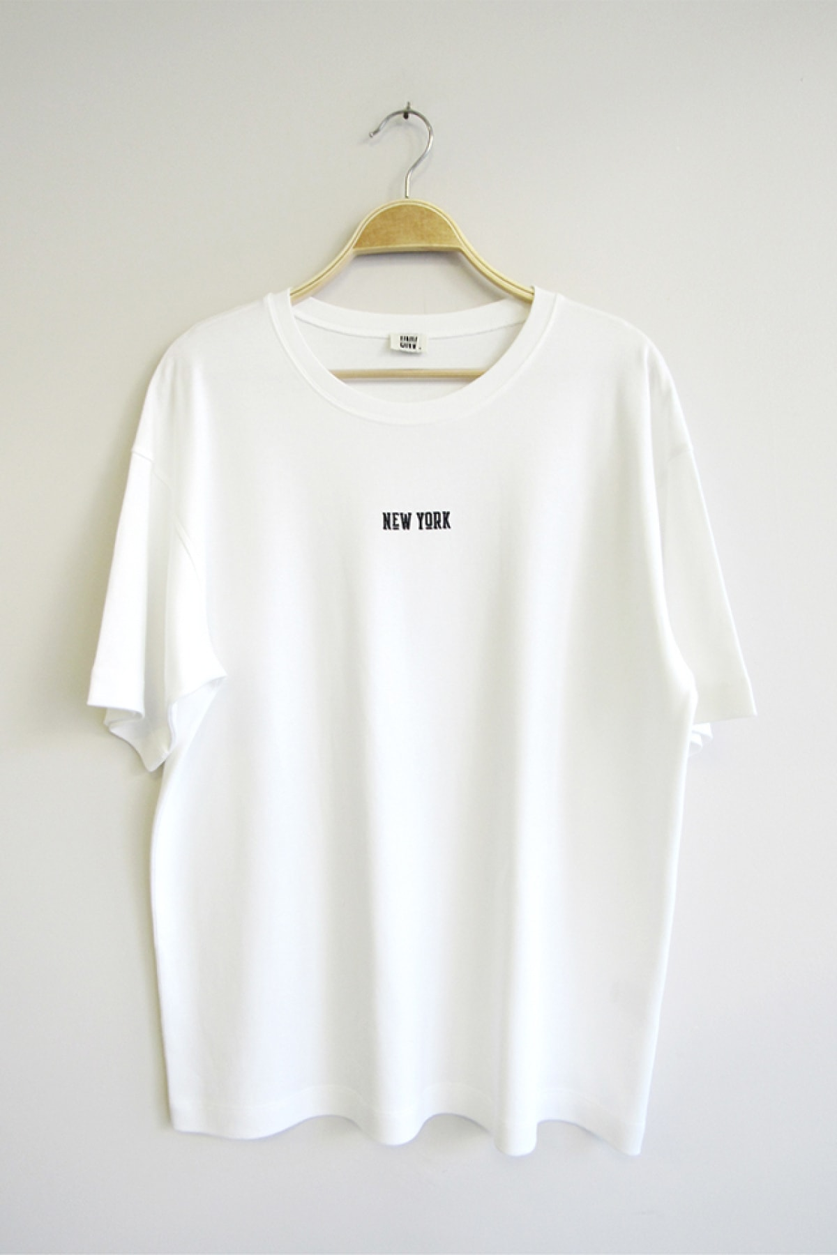 UNV COLLECTION Erkek Beyaz Oversize T-shirt 1