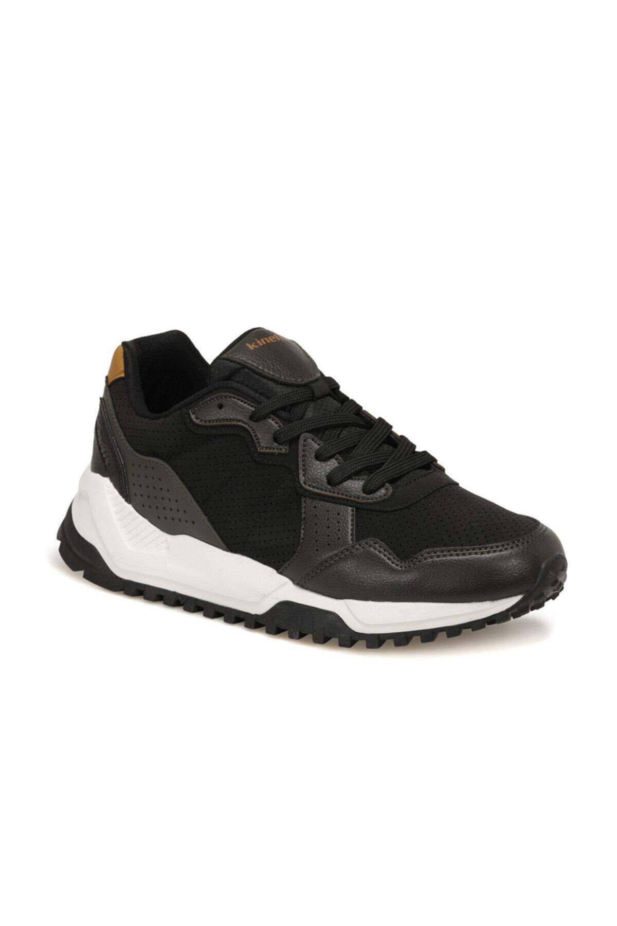 Kinetix CYNERIC Haki Erkek Kalın Taban Sneaker Spor Ayakkabı 100540738 1
