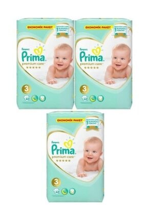 Prima Premium Care Bebek Bezi 3 Numara 62 Li 3 Ad