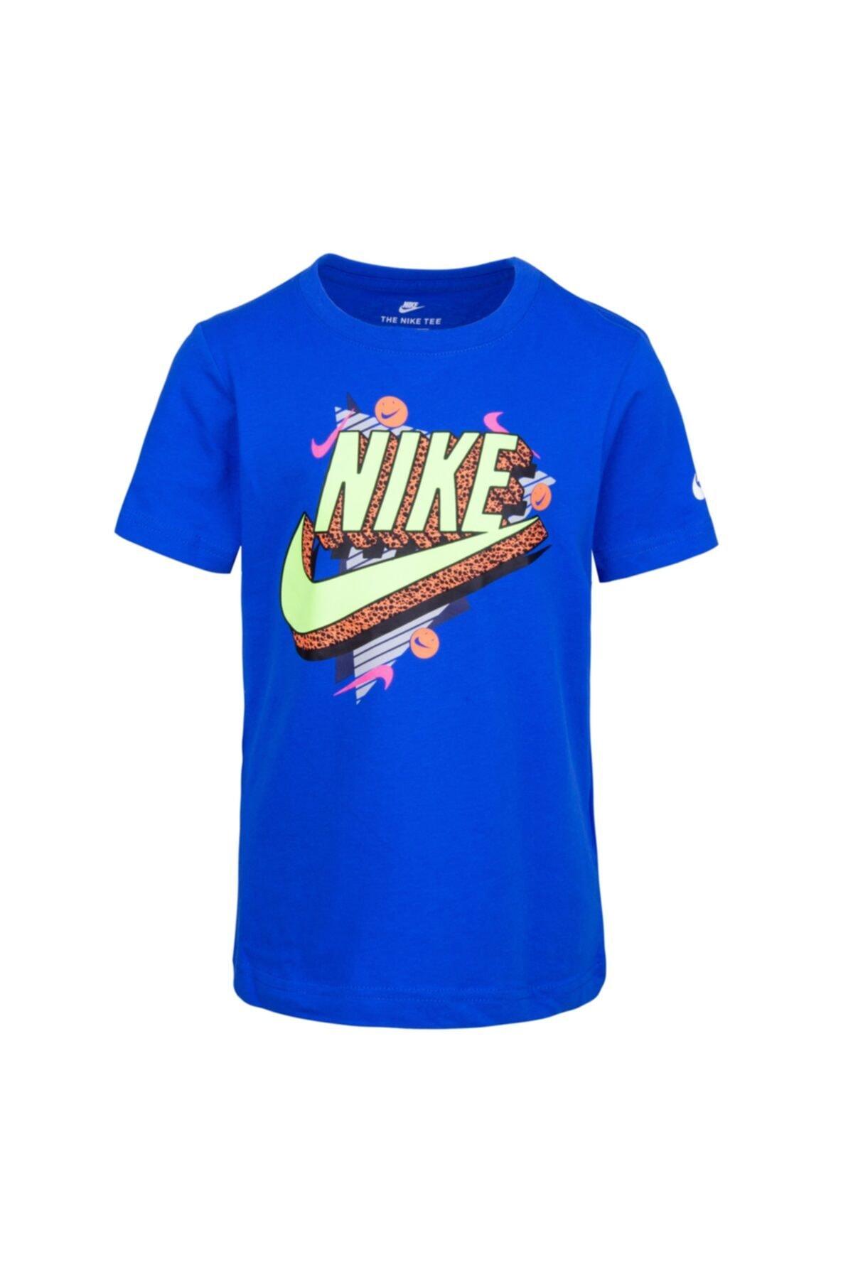 Nike Çocuk Mavi Tişört 86G889-U89 1