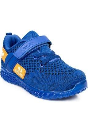 Vicco Unisex Çocuk Mavi Patik Işıklı Spor Ayakkabı 313.p20y.104