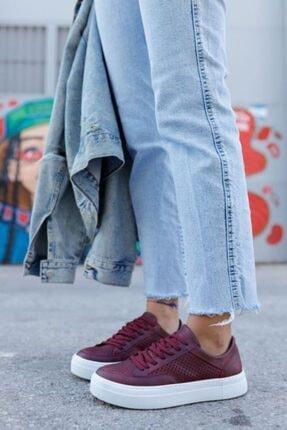 Chekich Kadın Bordo Ayakkabı Ch015 Bt