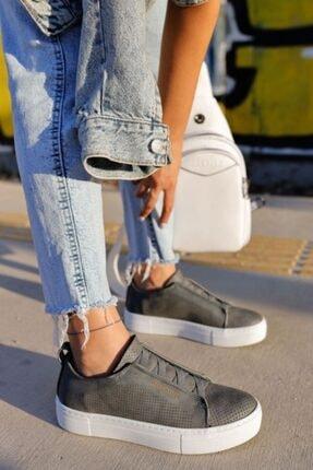 Chekich Kadın Antrasit Ayakkabı
