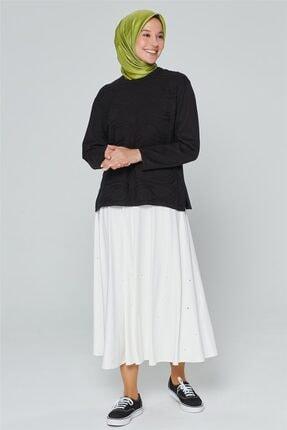 Armine Kadın Siyah Triko Kazak 9k9008