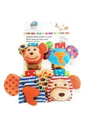 bebegen Sozy Toys Çıngıraklı Çorap Bileklik Seti