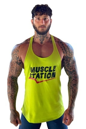 Muscle Station Musclestation Toughman Tank Workout Fitness Atlet