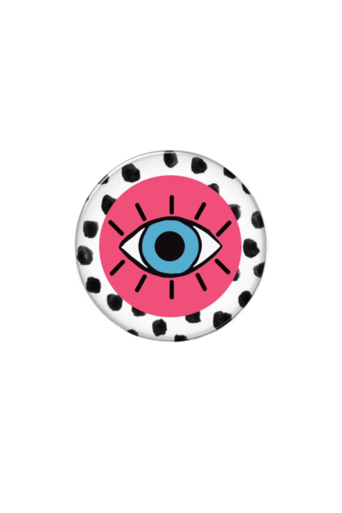 hey lori - Pembe Puan Göz Desen Popsocket 2