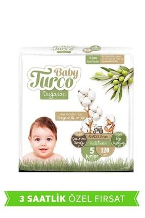Baby Turco Doğadan 5 Numara Junior 120 Adet
