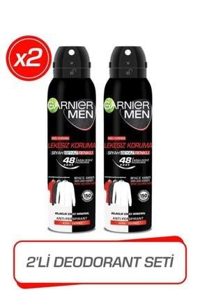 Garnier 2'li Men Lekesiz Koruma Sprey Erkek Deodorant Seti
