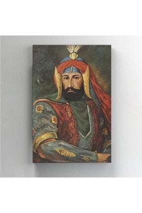BASKIVAR Osmanlı Padişahı 4. Murad Portre Dikey Kanvas Tablo