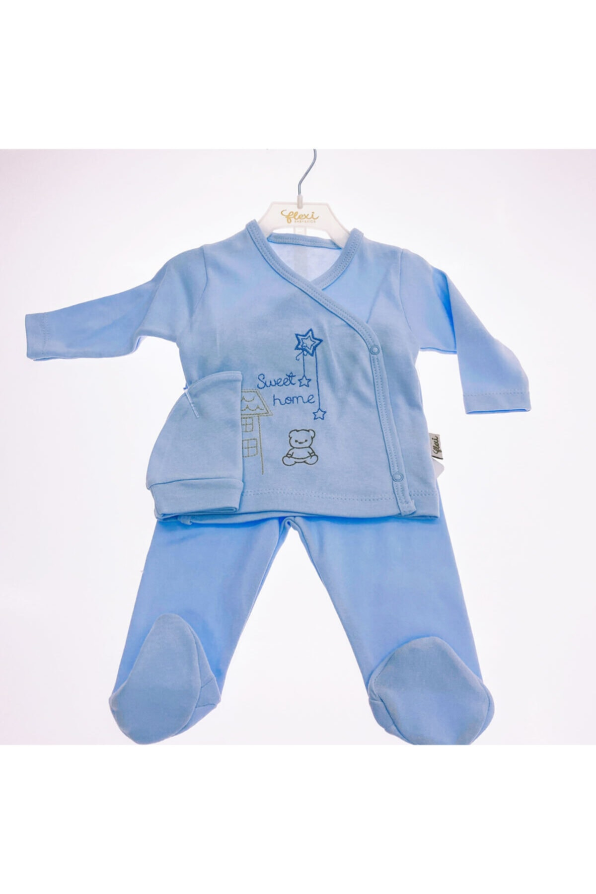 Flexi Baby Sweet Home 3'lü Hastane Çıkışı 1