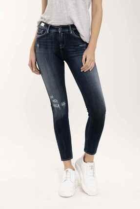 Replay Kadın Mavi Hyperflex Skinny Fit Jeans