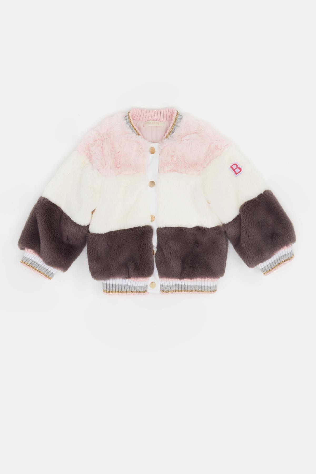 BG Baby Kız Bebek Renkli Kürk 20FW0BG2712