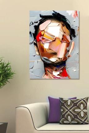 Hediyeler Kapında Yağlı Boya Görünümlü Face Art Kanvas Tablo 70x100